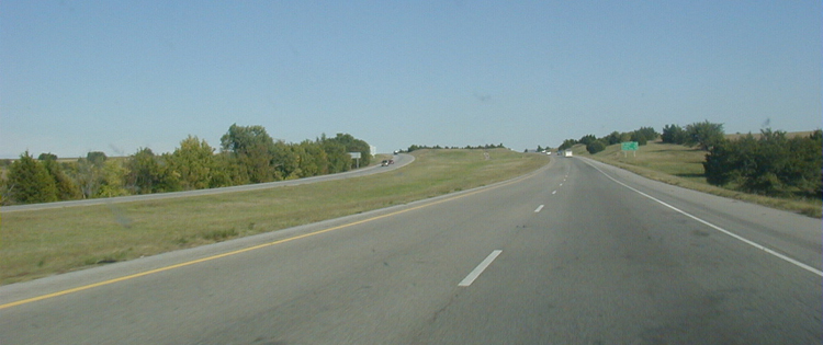 Interstate I-40 USA Autobahn Oklahoma 53c